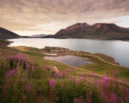 Lever de soleil sur le Lac du Mont-Cenis